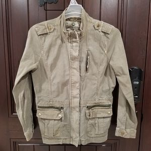 LUCKY BRAND Women sz Large Military Style Jacket